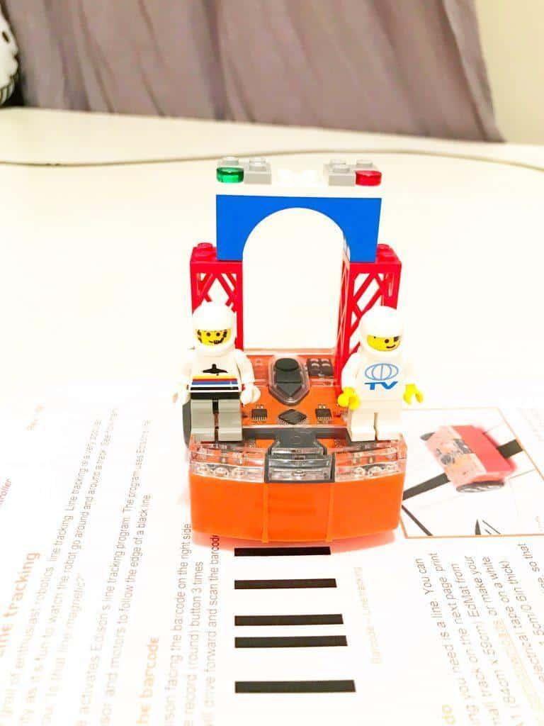 Edison Robot Barcodes
