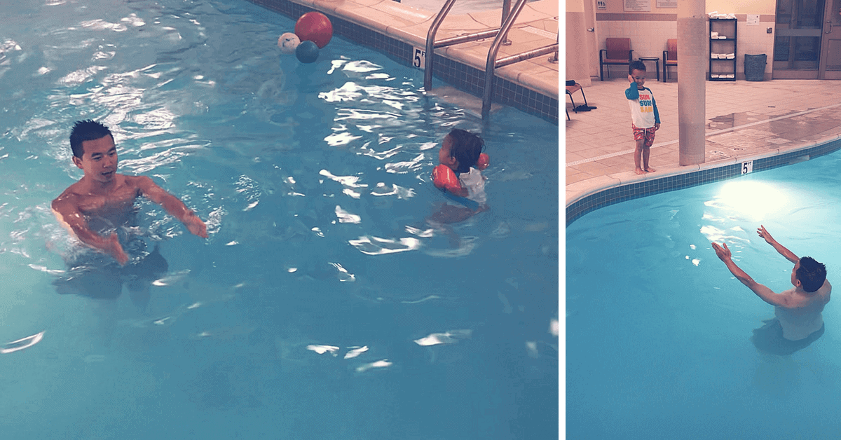 Learn about sequencing and algorithms in the pool!