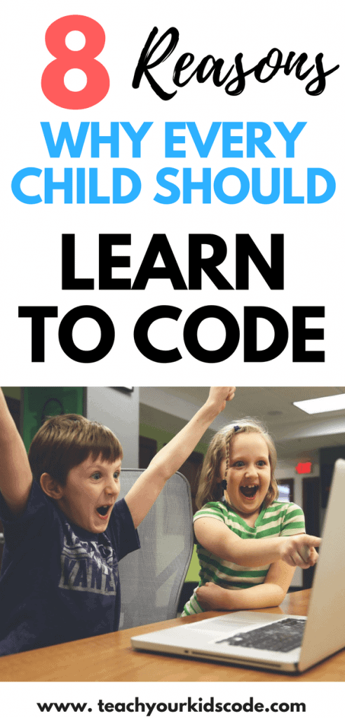 Why is coding important to learn? Coding is a skill that all kids should learn! Thera are so many reasons why coding for kids is the future. Read why we should be teaching our kids code and check out some of my awesome coding activities for kids when you are done! #coding #STEM #codingforkids #learncoding