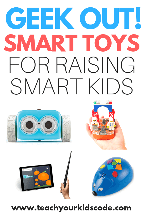 Looking for some awesome STEM toys to get your kids learning? We've compiled the top coding gifts for kids. These cool toys are perfect for raising smart kids. The perfect tech gifts for christmas gifts for kids. We love these smart toys that are educational and fun. Check out all our list of toys for kids 2018! #coding #codingtoys #STEM #STEMgifts #giftguide #kidsgiftguide #smartgifts #educationaltoys