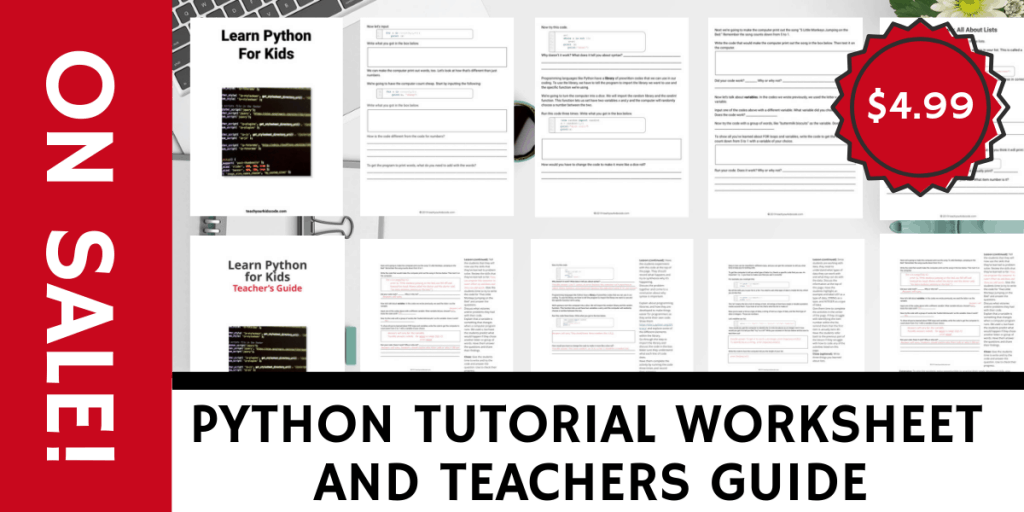 So You Want to Learn Python: Python Tutorial For Kids