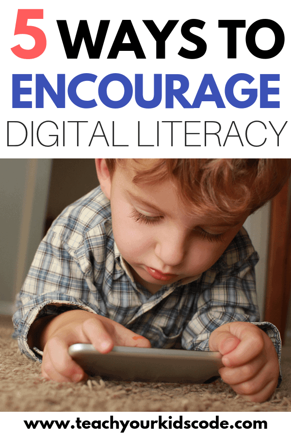 What is digital literacy and why is it important? In this post we will be talking all bout the benefits of digital literacy. What is is and how we can encourage digital literacy in our kids. Digital literacy is more than just knowing how to work a computer. Digital literacy involves a deeper understanding of technology and its abilities and limitations. #technology #education