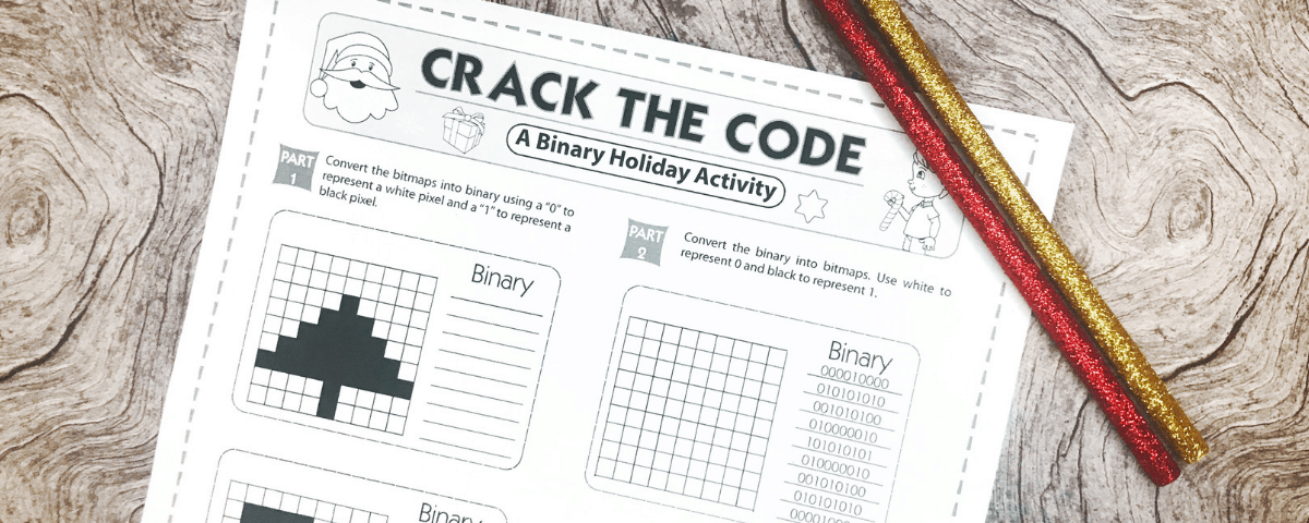 Free binary numbers worksheet for the holidays ibookread Read Online