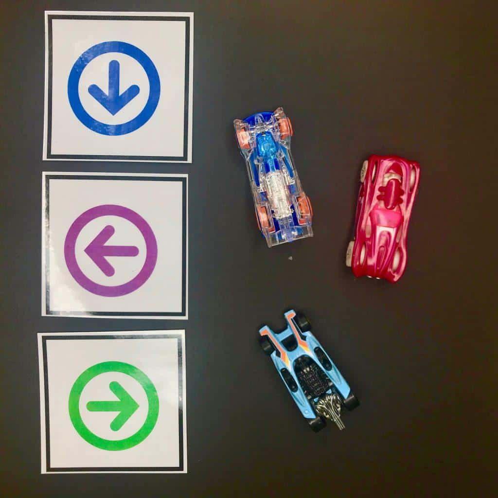 Coding Unplugged HotWheels