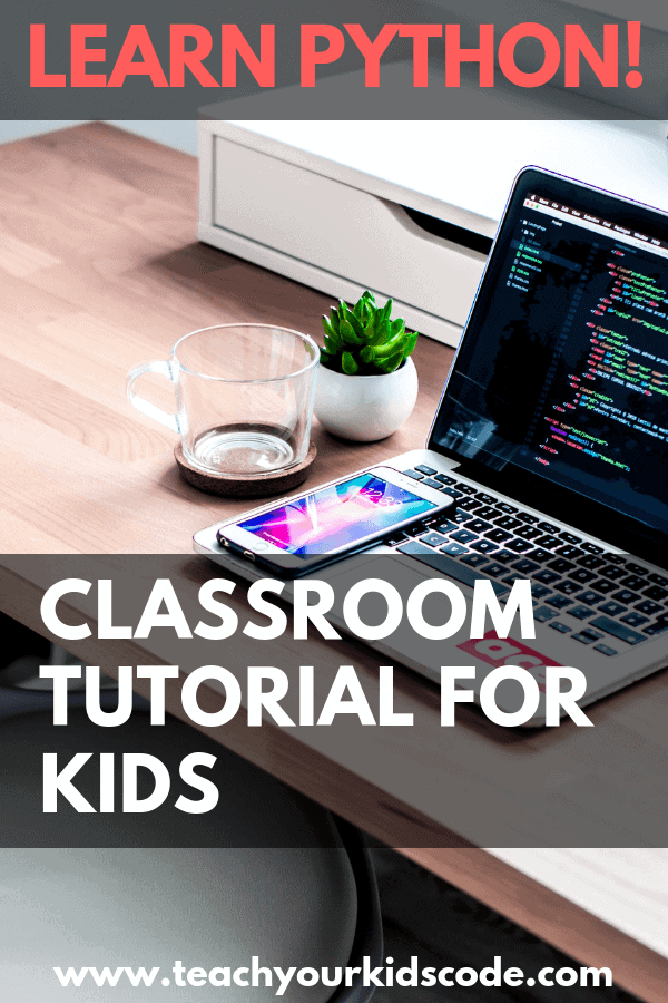 This is part two of our Python tutorial for kids. It's easy to learn Python programming with these simple lesson plans for the computer science classroom. Get your students coding with this easy introduction to one of the most useful programming languages in the world. Kids will learn real world skills that will help them to understand the python coding language. #coding #hourofcode