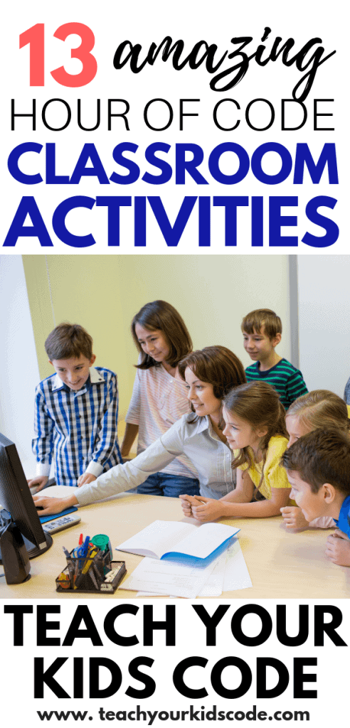 Free Hour of Code Activities for the classroom! Pin this list of curated coding content for the hour of code week. Hour of code is happening Dec 3-9 2018. Get your students engaged with computer programming basics in these short one hour tutorials designed to help kids learn the basic concepts of coding. Your kids will love these fun activities that bring coding to life with some of their favorite characters and games. These free coding activities are a lot of fun!