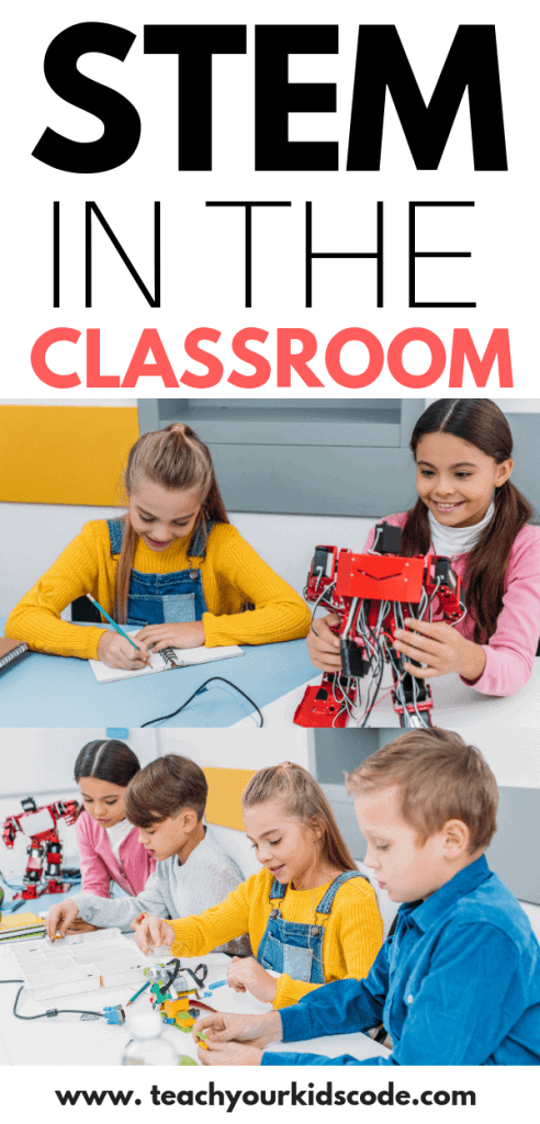 Are you wanting to bring STEM into the classroom? Read our guide to STEM education! We'll review what STEM means and why STEM (and STEAM!) are important for learning. Grab some ideas for how to bring coding and technology into the classroom and grab some STEM resources for your class. STEM education is essential and this guide will get you started! #STEM #education #classroom