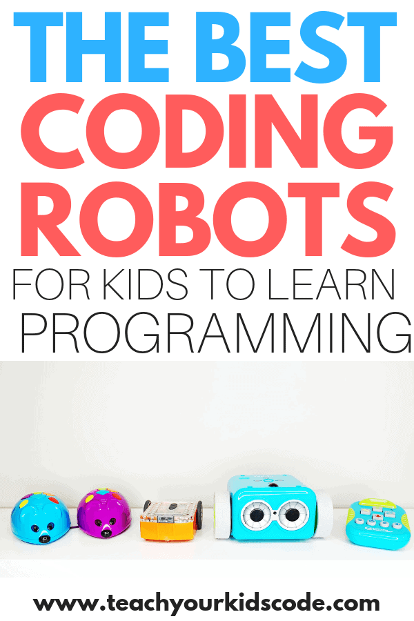 Do you want to teach your kids to code? These are the best coding robots for kids to learn programming. These programming robots will teach kids how to problem solve and thin creatively. Learning to code is easy when you are having fun! Check out these awesome coding robot toys for kids! #STEM #coding
