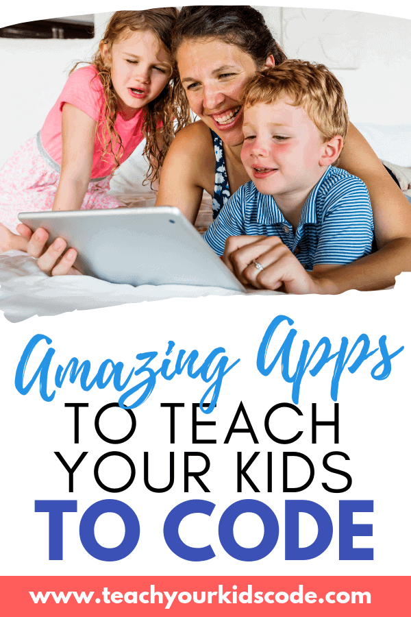 Teach your kids to code! These amazing apps will hope your kids learn to code. We cover the best programming apps for all ages and levels of coding. Your kids can easily learn code with these amazing coding apps. #coding #apps #eduction #STEM