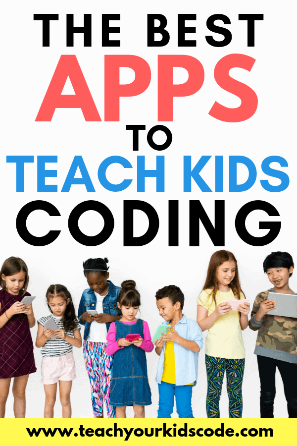 Are you looking for the best apps to learn coding? Here is our list of awesome educational apps that will teach your kids to code. It's easy to get started with these programming apps that teach a variety of coding concepts and coding languages. #apps #coding #STEM #education