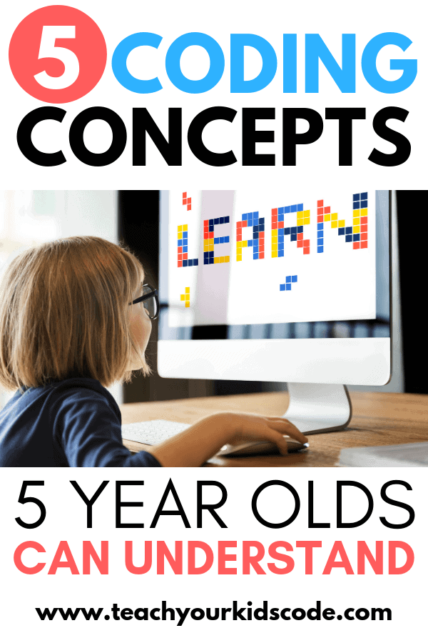 Coding for kindergarten! These simple coding concepts are easy enough for 5 year olds to understand. Check out our kindergarten coding ideas. We have lots of screen free activities to get your kindergarteners coding. Check out these STEM activities for kindergarten here. #STEM #kindergarten #coding