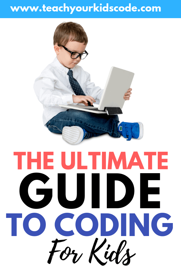 Let's learn about coding for kids! This is the ultimate guide to teaching your kids to code. We review how to get started with coding for kids in the classroom or at home. From unplugged coding activities to the best coding apps and coding website we teach you easy ways for kids to learn programming in this guide. #coding #stem #education