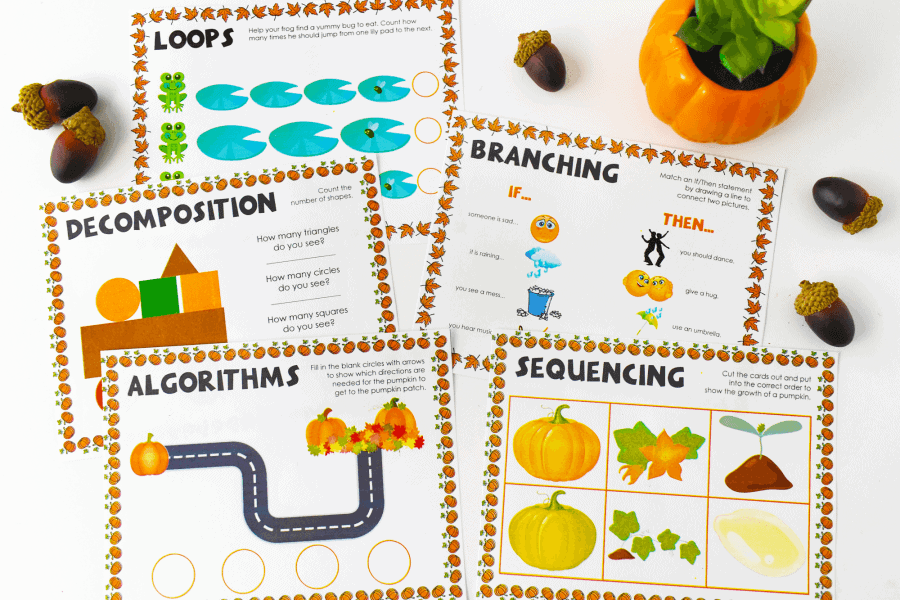 Fall-Coding-Activities