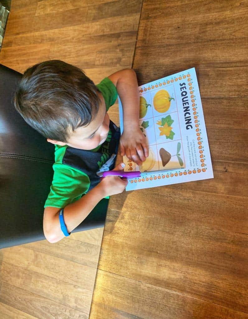 Sequencing | Coding for Kindergarten Worksheet