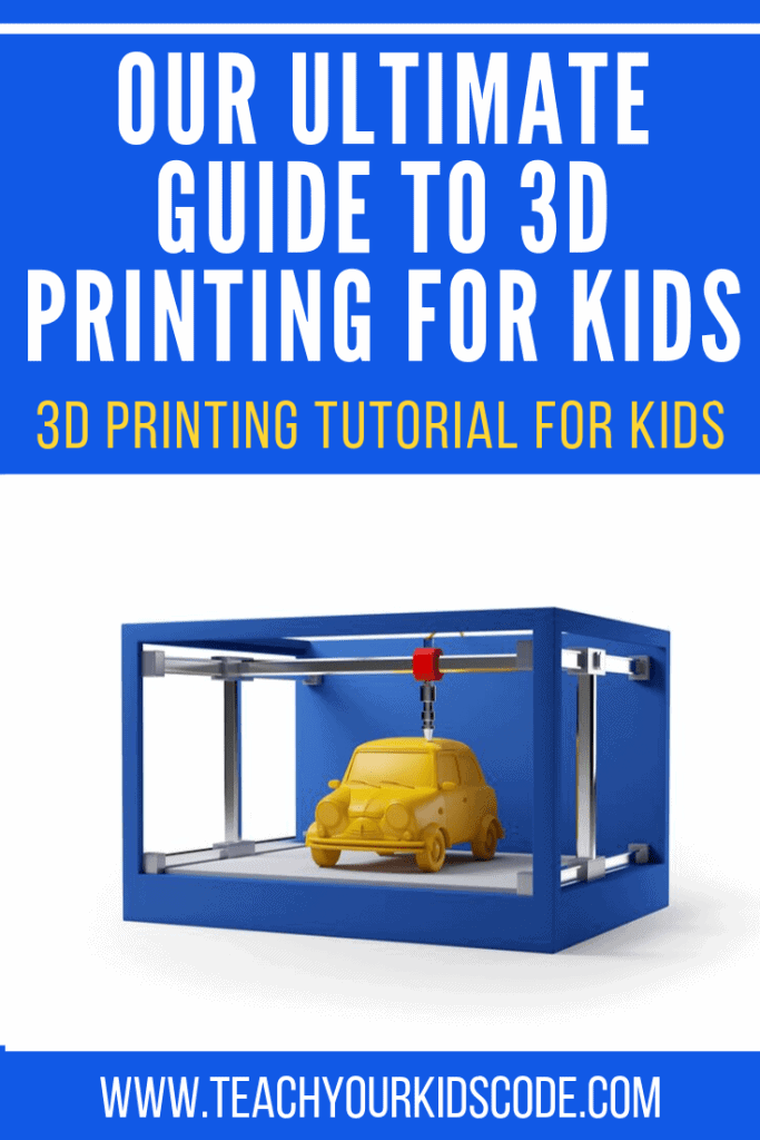 Have fun with 3D printing for kids! Yours kids can learn to design their own 3D objects with this simple guide to 3D printing for kids. We will review the best 3D printers for kids and how to create a design with only basic knowledge. See just how easy it is to design in 3D with this kid-friendly 3D printer guide. #technology #education #3Dprinter