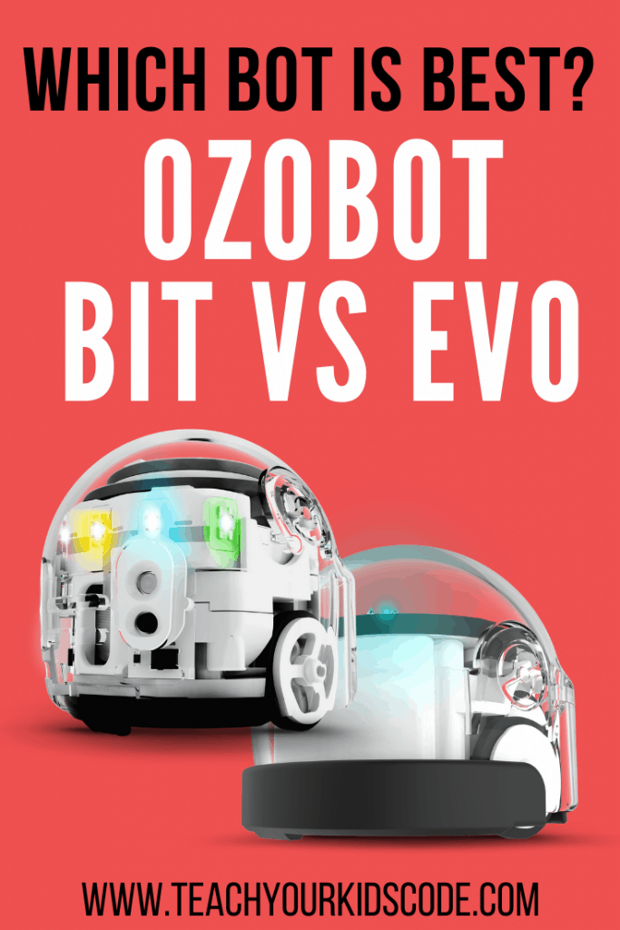 Are you looking for the best coding robot toys for kids? We're here to review two of the top robot coding toys on the market: the ozobot bit and ozobot evo. These two programming toys are a perfect STEM gift for your little programmer. These coding toys are great for the classroom or the home. Check out what the Ozobot robots can do in this post! #STEM #coding #education