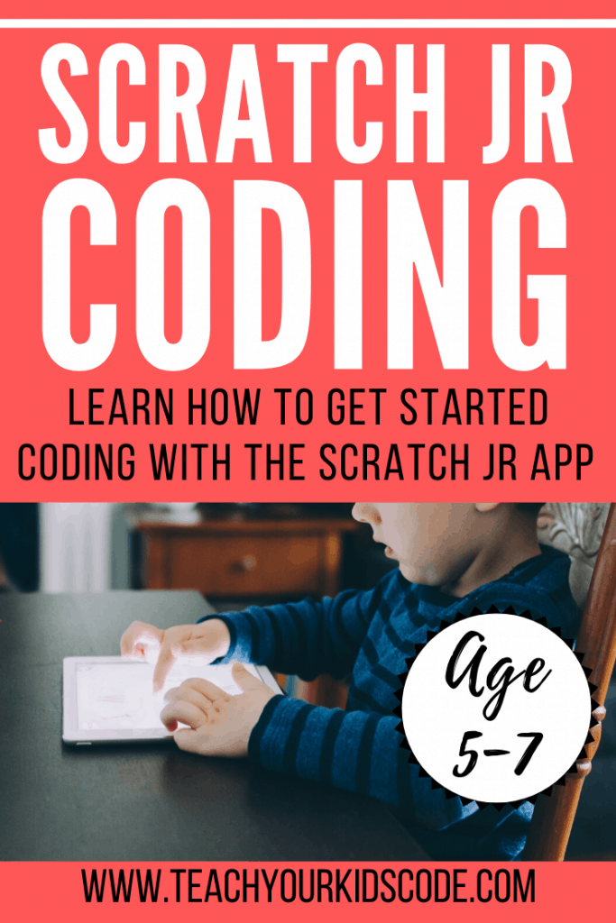 Get started with scratch coding for kids! Scratch Jr is the perfect app for kids age 5-7 to get a taste of coding. Using the scratch jr app, kids can design their own 'sprites' and program them to dance, move, explore and more. Learn the basics of coding with this fun app. Here's our guide to getting started with scratch. #coding #edtech #codingforkids