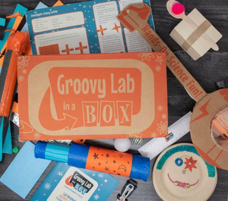 Groovy Lab: Subscription STEM Box for Kids Ages 8+