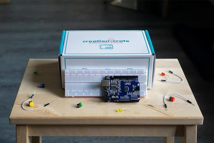 Creation Crate: Electronics and Computer Science Monthly Subscription Box