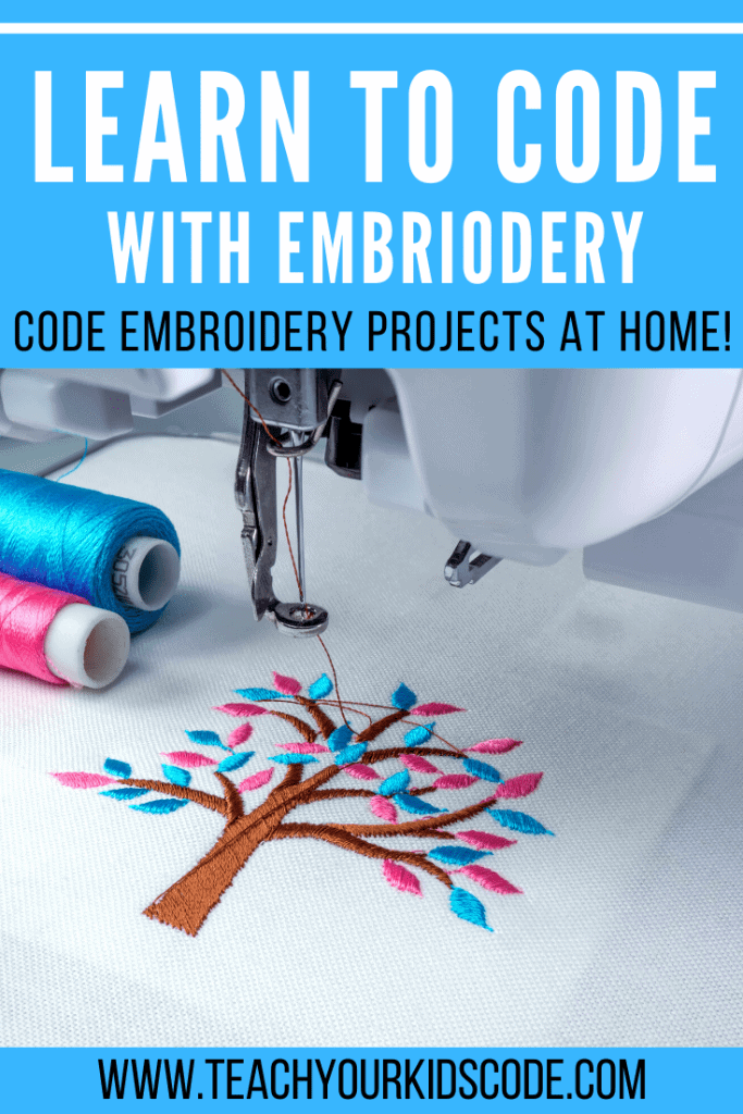 Code Your Own Embroidery With Turtle Stitch Teach Your Kids Code